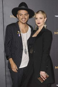 """Ashlee Simpson and Evan Ross - """"The Hunger Games: Mockingjay - Part 2"""" Los Angeles Premiere"""