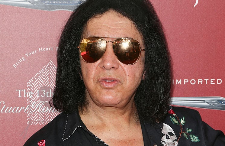 Gene Simmons - John Varvatos 13th Annual Stuart House Benefit