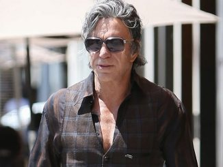 Mickey Rourke Sighted in Los Angeles on May 27, 2016