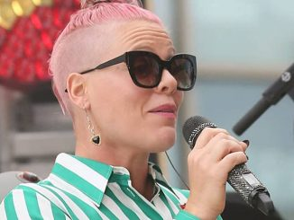 "Pink Sighted at ""Jimmy Kimmel Live!"" on May 23, 2016"