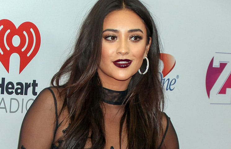 Shay Mitchell - Z100's iHeartRadio Jingle Ball 2015