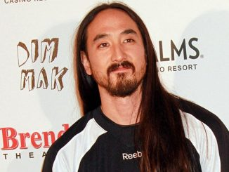 Steve Aoki Honored with a Brenden Celebrity Star on the Brenden Walk of Fame in Las Vegas on March 6, 2015