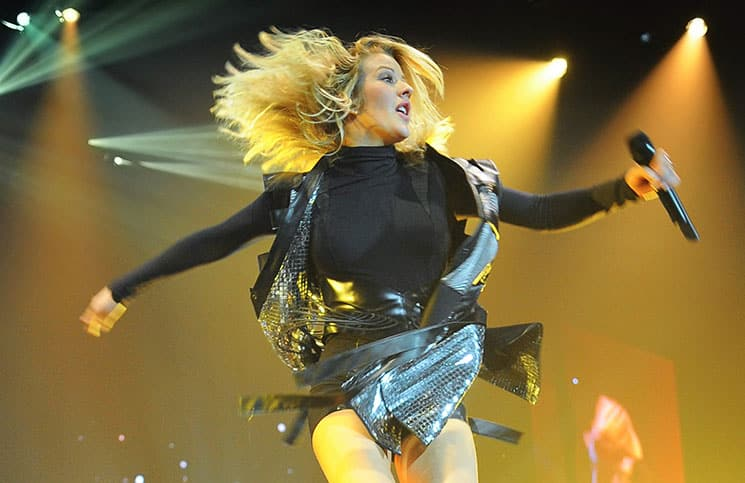 Ellie Goulding & John Newman in Concert at Liverpool Echo Arena - March 10, 2016