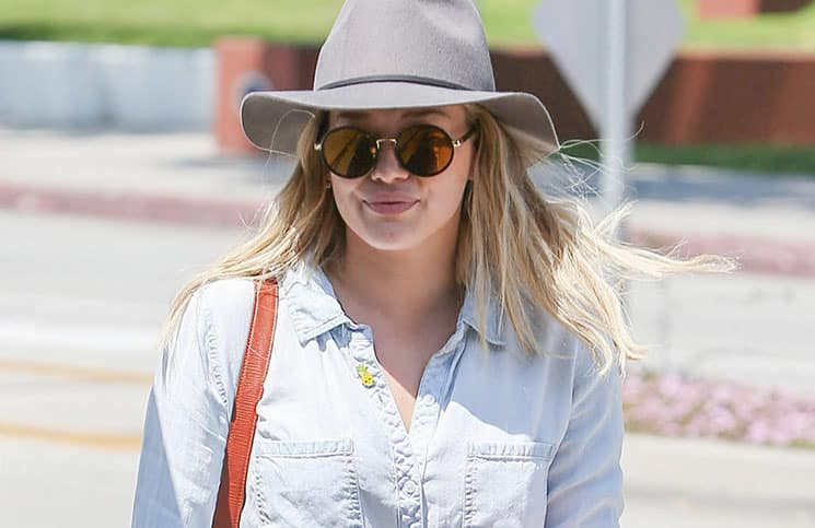 Hilary Duff Sighted in Los Angeles on April 13, 2016
