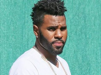 "Jason Derulo Sighted Arriving at ""Jimmy Kimmel Live!"" on May 2, 2016"