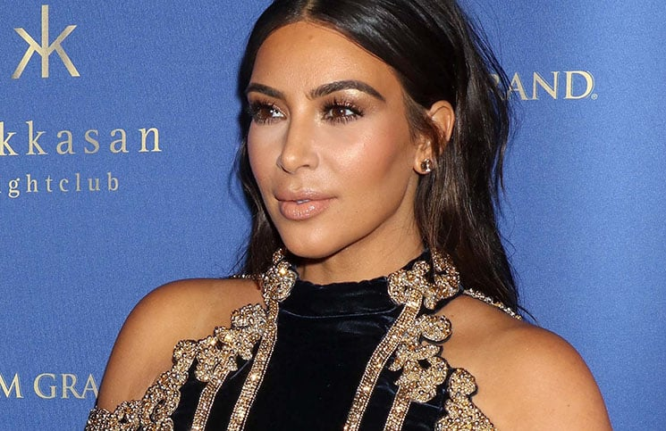 Kim Kardashian West - Hakkasan Las Vegas 3rd Anniversary Celebration Hosted by Kim Kardashian West