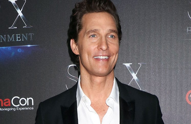 Matthew McConaughey - CinemaCon 2016
