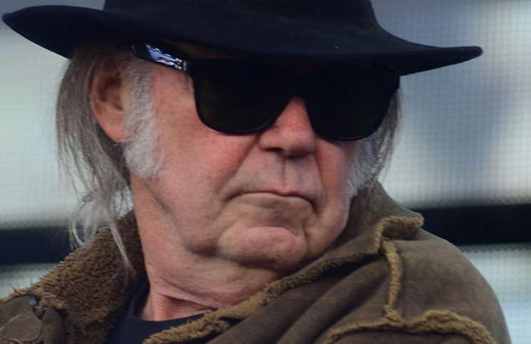 Neil Young - Farm Aid 30 - Press Conference