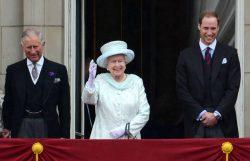 Prinz Charles, Queen Elizabeth II. und Prinz William