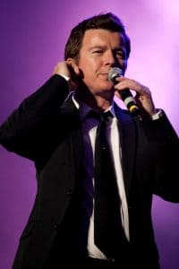 Rick Astley - 2009 Here and Now Show at the Pavilhao Atlantico in Lisbon