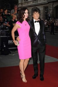 Ronnie Wood and Sally Wood - GQ Men of the Year Awards 2014