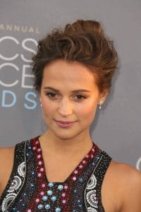 Alicia Vikander - The 21st Annual Critics' Choice Awards