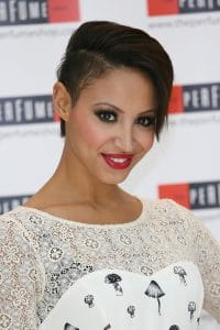 "Amelle Berrabah - Sugababes Launch Three New Fragrances ""Tease, Tempt and Touch"" at The Perfume Shop in London"