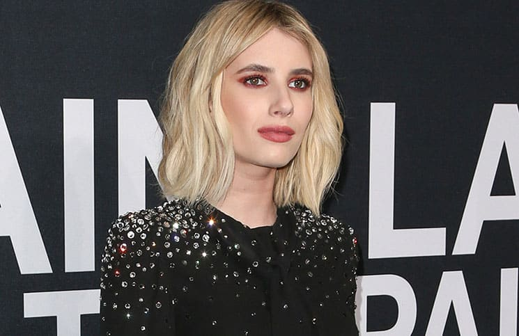 Emma Roberts - Saint Laurent at the Palladium