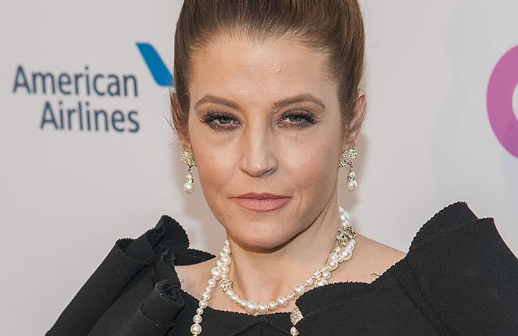 """Lisa Marie Presley - Elton John AIDS Foundation's 12th Annual """"An Enduring Vision Benefit"""""""