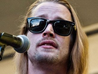 Macaulay Culkin Performs with The Pizza Underground Band at The Awesome Fest at The Oval in Philadelphia - July 18, 2014
