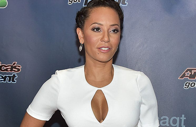 "Melanie Brown - ""America's Got Talent"" Episode 1025 Red Carpet"