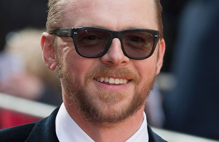 Simon Pegg - Jameson Empire Film Awards 2015