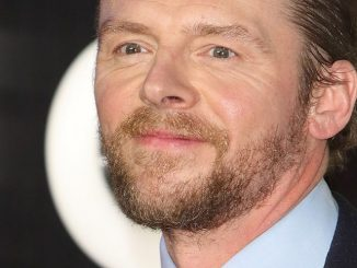 "Simon Pegg - ""Star Wars: The Force Awakens"" European Premiere"