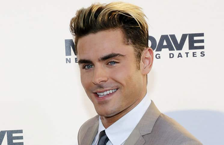 """Zac Efron - """"Mike And Dave Need Wedding Dates"""" Los Angeles Premiere"""
