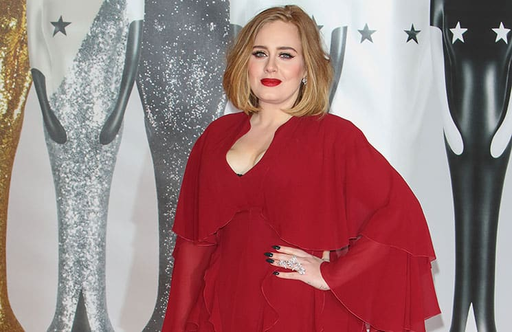 Adele - BRIT Awards 2016 - Arrivals - O2 Arena