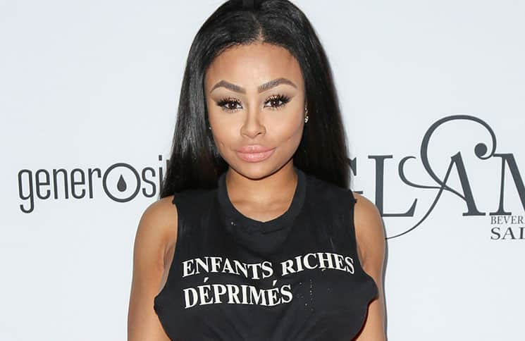 Blac Chyna - GLAM Beverly Hills Salon Grand Opening and Ribbon Cutting Celebration