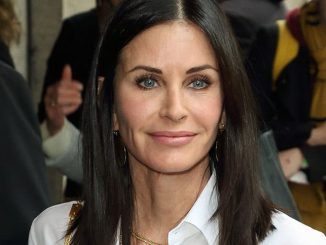 Courteney Cox - Ivor Novello Awards 2016