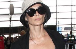 Demi Moore Sighted at LAX Airport on July 1, 2015