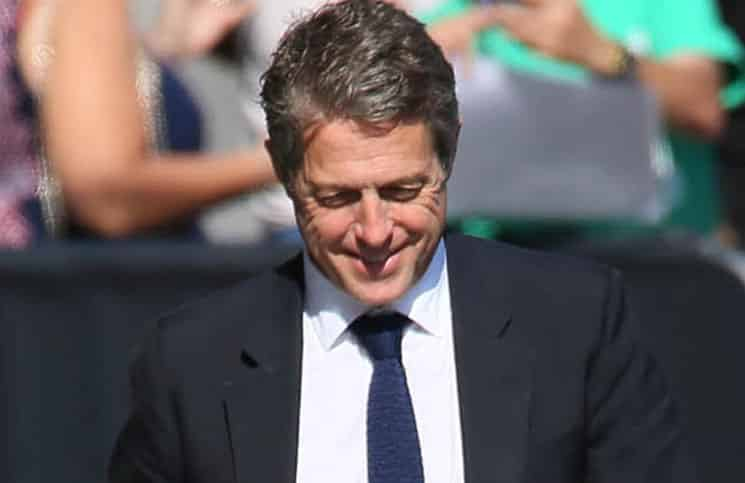 "Hugh Grant Sighted Arriving at ""Jimmy Kimmel Live!"" on August 3, 2016"