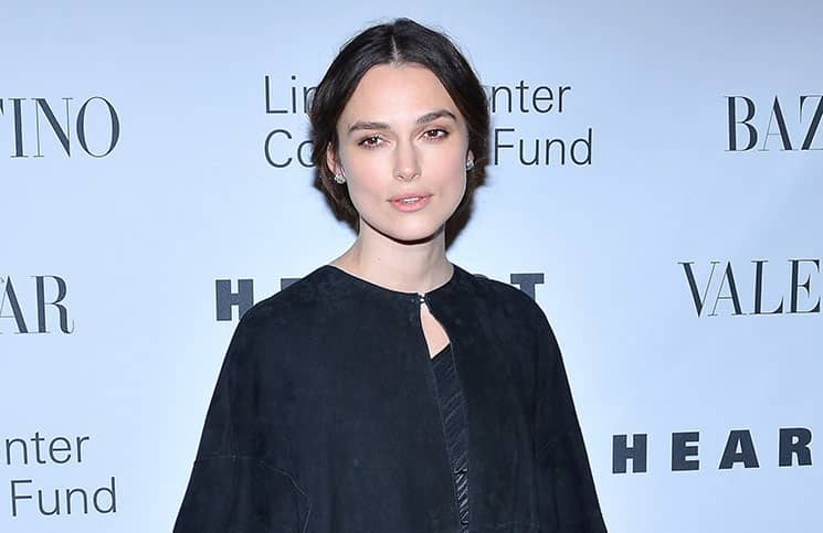 """Keira Knightley - """"An Evening Honoring Valentino"""" Lincoln Center Corporate Fund Black Tie Gala"""