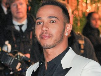 Lewis Hamilton - British Fashion Awards 2015