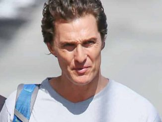"Matthew McConaughey Sighted Arriving at ""Jimmy Kimmel Live!"" on May 4, 2016"