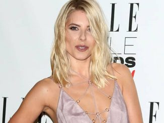 Mollie King - Elle Style Awards 2016