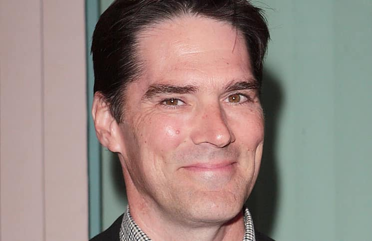 """Thomas Gibson - Academy of Television Arts & Sciences Presents: """"Primetime TV Crimefighters"""" - Arrivals"""