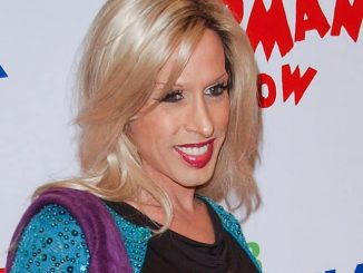 Alexis Arquette Opening Night Red Carpet of The Pee-Wee Herman Show
