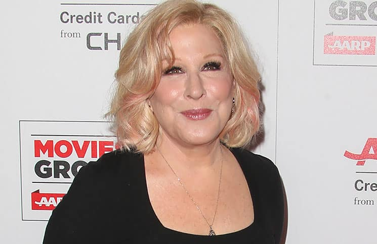 Bette Midler - 15th Annual AARP Movies for Grownups Awards