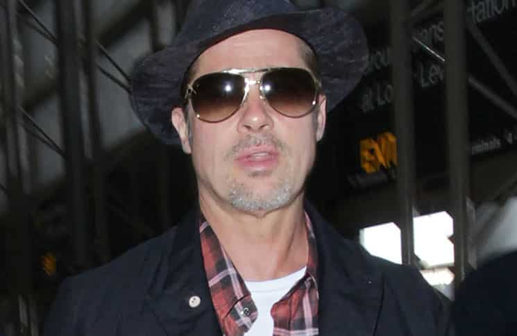 Brad Pitt Sighted at LAX Airport on June 15, 2016