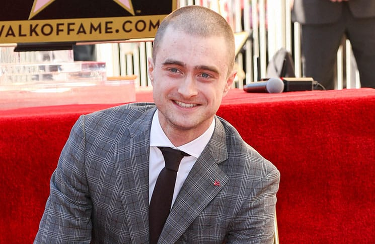 Daniel Radcliffe Honored with a Star on the Hollywood Walk of Fame on November 12, 2015