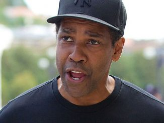 Denzel Washington Arrives at the Maria Cristina Hotel in San Sebastian on September 19, 2014