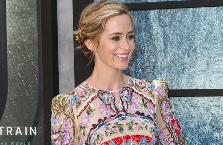 """Emily Blunt - """"The Girl on the Train"""" World Premiere"""