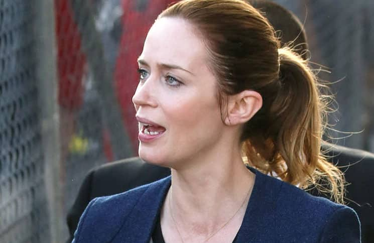 Emily Blunt Sighted in Los Angeles on April 13, 2016