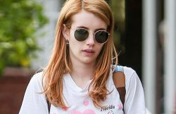 Emma Roberts Sighted in Los Angeles on April 6, 2016