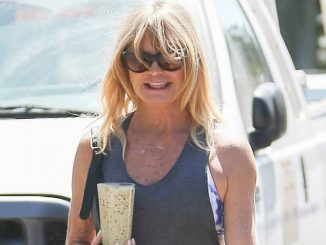 Goldie Hawn Sighted in Los Angeles on September 14, 2016