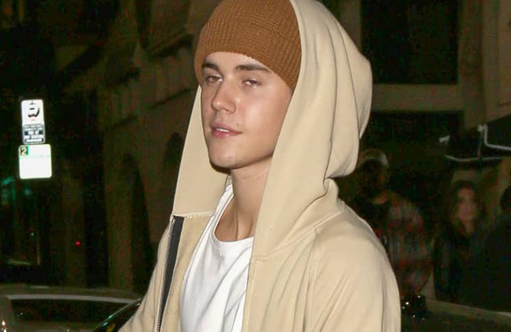 Justin Bieber Sighted at House of Macau in Hollywood on November 10, 2015