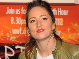 KT Tunstall Switches off the Christmas Lights and Performs at the Westfield Shopping Centre in London on January 6, 2012