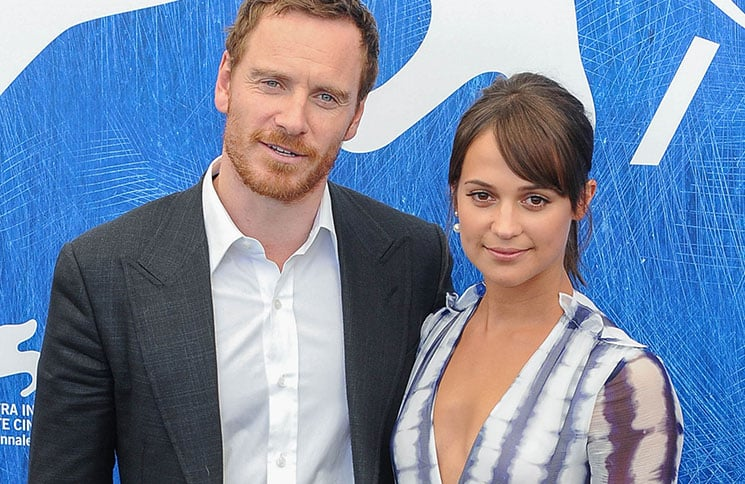 Michael Fassbender and Alicia Vikander - 73rd Annual Venice International Film Festival