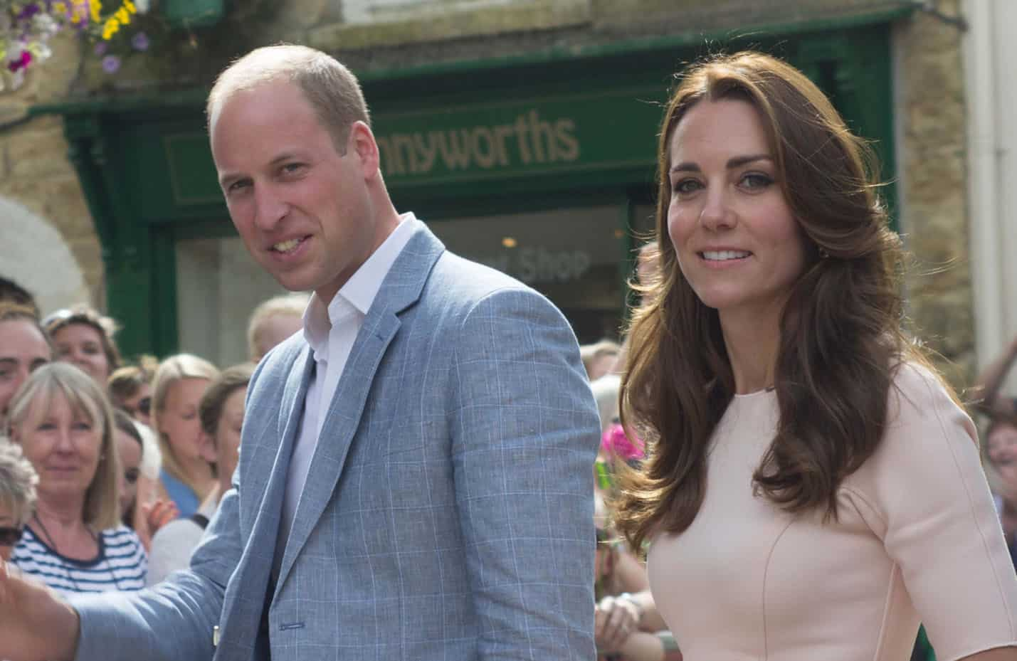 Prinz William und Herzogin Kate - The Duke and Duchess of Cambridge Visit Truro Cornwall on September 1, 2016