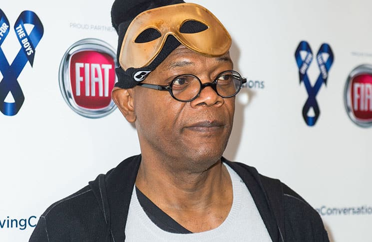 """Samuel L. Jackson - 2016 One For The Boys """"Masquerave"""" Celebrity Charity Event"""