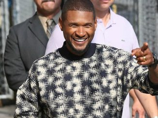 """Usher Sighted Arriving at """"Jimmy Kimmel Live!"""" on August 25, 2016"""
