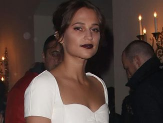 Alicia Vikander - 60th Annual BFI London Film Festival